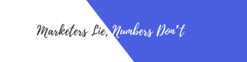 Digato Digital Marketing Consultant Marketers Lie, Numbers Don't
